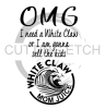 White Claw OMG Alcohol Designs