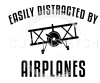 Easily Distracted by Airplanes Aviation Designs