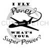 I Fly Planes Aviation Designs