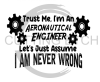 Aeronautical Engineer Never Wrong Aviation Designs