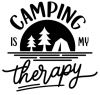 Camping is My Therapy Camping Designs