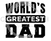 World's Greatest Dad Dad Designs