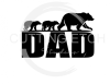Bear Dad with Cubs Dad Designs