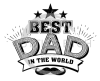 Best Dad in the World Dad Designs
