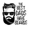 The Best Dads have Beards Dad Designs