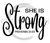 She is Strong 2 Faith Designs