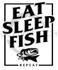 Eat Sleep Fish Repeat 2 Fishing and Hunting Designs