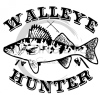 Walleye Hunter Fishing and Hunting Designs