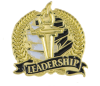 Bright Gold Academic Leadership Lapel Pin Lapel Pins