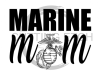 Marine Mom Military Designs