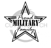 Proud Military Family Military Designs