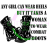 Any Girl Can Wear Heels Military Designs