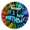 Birthday School Button Promotional Buttons