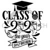 Class of 2020 Social Distancing Designs