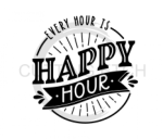 Every Hour is Happy Hour 2 Alcohol Designs