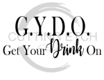 Get Your Drink On Alcohol Designs
