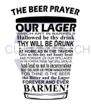 The Beer Prayer Alcohol Designs