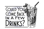 Could You Come Back in a Few Drinks? Alcohol Designs