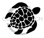 Sea Turtle Mandala Animal Designs
