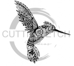 Hummingbird Mandala Animal Designs