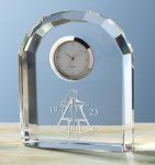Faceted Arch Clock Arch Awards