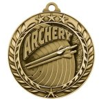 Wreath Award Medallion -Archery Archery Trophy Awards