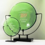 Spinoza Plate Artistic Glass Awards