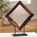 Bronze Border Artistic Glass Awards