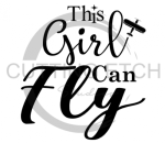 This Girl Can Fly Aviation Designs