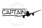 Captain with Plane Aviation Designs