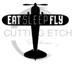 Eat Fly Sleep 2 Aviation Designs