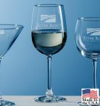 Selection White Wine Barware Stemware