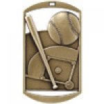 Dog Tag Medals -Baseball Baseball Trophy Awards