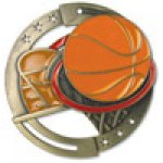 M3XL Series Medals -Basketball  Basketball Trophy Awards