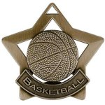 Star Series Medal Awards -Basketball Basketball Trophy Awards