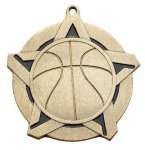 Super Star Medal -Basketball Basketball Trophy Awards