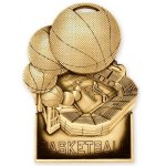 Standup Medal -Basketball Basketball Trophy Awards