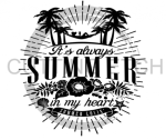 It's Always Sunny in my Heart Beach Lake Summer
