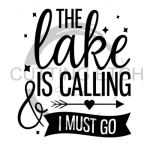 The Lake is Calling and I Must Go Beach Lake Summer