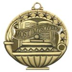 APM Medal -Most Improved  Billiards/Pool Trophy Awards