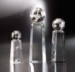 Discovery Black Optical Crystal Awards