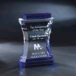 Annapolis Blue Optical Crystal Awards