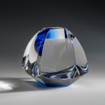 Scientia Blue Optical Crystal Awards