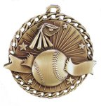 Burst Thru Medal -Baseball Burst Thru Medal Awards