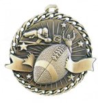 Burst Thru Medal -Football Burst Thru Medal Awards