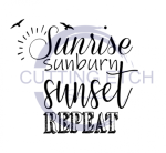 Sunrise Sunburn Sunset Repeat Camping Designs