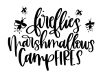 Fireflies Marshmallows Campfires Camping Designs