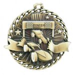 Burst Thru Medal -Derby Car Car/Automobile Trophy Awards