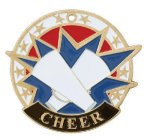USA Sport Medals -Cheerleader Cheerleading Trophy Awards