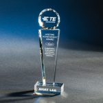 Providence Clear Optical Crystal Awards